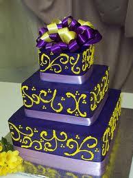 modele tort tort nunta modele galben si mov
