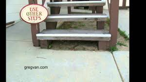 2 Step Stair Stringer by Don U0027t Let Wood Stair Stringers Set In Dirt Design And
