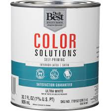 do it best color solutions latex self priming satin interior wall
