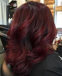 Red Hair Color With Highlights Pictures 45 Shades Of Burgundy Hair Dark Burgundy Maroon Burgundy With