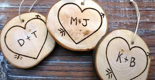 wooden personalized ornaments rainforest islands ferry
