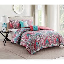 full size bedding latitude bright hearts bed in a bag bedding set