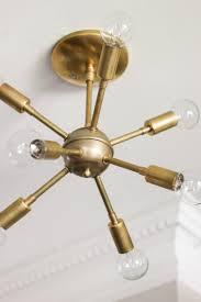 Chandelier Cleaner Recipe New Sputnik Chandelier U0026 Mid Century Style Lighting Source Erin