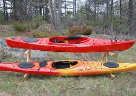 Wooden Kayak Storage Rack Plans by Canoe And Kayak Storage Options