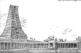 madurai meenakshi amman temple pencil drawing sathish u0027s
