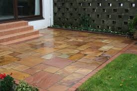 Slabbed Patio Designs Tallerdeimaginacion Patio Paving Designs
