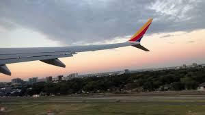 Southwest Flight Tickets by Southwest Airlines Wn1 Dal Hou 737 Max8 Inaugural Flight Take Off
