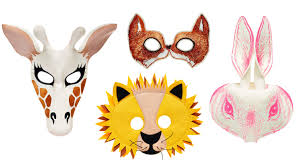 4 animal masks that make for a fast and easy halloween costume
