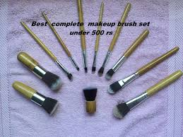 beginners full face best makeup brush set under 500 rs youtube