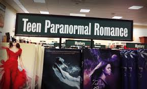 teen paranormal romance bookshelf thoughts on fantasy