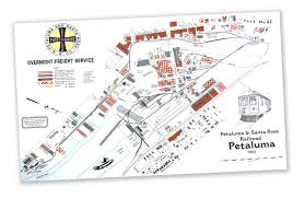 Petaluma Ca Map Petaluma U0027s Rail History