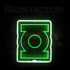 green lantern neon light fat dragon bbq neon sign video games my hobby pinterest