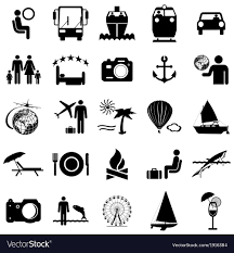travel symbols images Collection flat icons travel symbols royalty free vector jpg