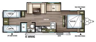 Cer Trailer Kitchen Designs Design Your Own Travel Trailer Floor Plan Forest River Modern
