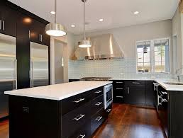 black and white kitchen cabinets home design ideas