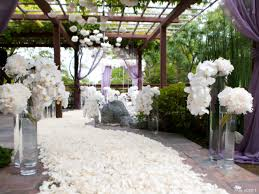 white wedding seriously lovely white wedding ceremony b lovely events