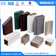 Veranda En Alu Aluminium Profile For Nigeria Market Aluminium Profile For