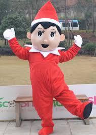 Pinocchio Halloween Costume Elf Pinocchio Shelf Mascot Costume Thermolite
