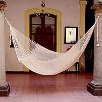 cotton hammocks at novica