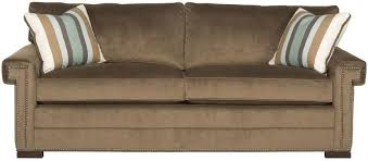 Two Cushion Sofa by Vanguard Furniture Davidson Transitional Two Cushion Sofa With