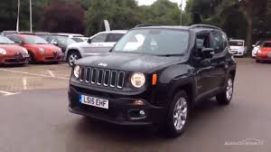 new jeep renegade black jeep renegade longitude black 2015 youtube