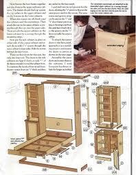 Murphy Desk Bed Plans Murphy Bed Plans U2022 Woodarchivist