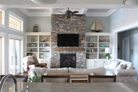 living room 2017 living room fireplace wall in worldly gray