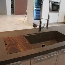 Concrete Kitchen Sink by Sinks Gallery