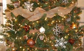 rustic christmas 40 pretty rustic christmas tree decorating ideas for home