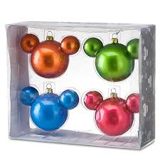 your wdw store disney ornament set mickey mouse icon