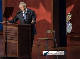 Clint Eastwood Chair Meme - did someone say my name from clint eastwood s rnc empty chair