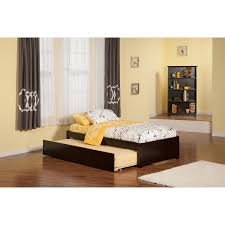 Flat Bed Frame Bedroom Scenic Frame With Trundle Pop Up Beds Comtable Room