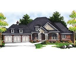 luxury style homes marmande luxury ranch style home plan 051s 0048 house plans and more