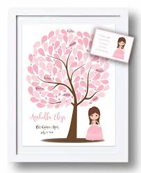 sweet 16 sign in book quinceañera guest book 16x20 sign in tree sweet 16 guestbook