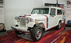 jeep jeepster 2015 fcs jeepsters cjs and more the awesome classic jeeps of sema