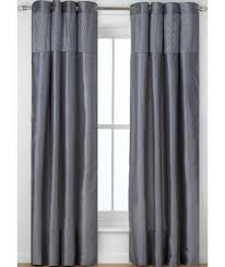 buy heart of house colette eyelet curtains 228x228cm dove grey
