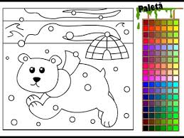 polar bear color page polar bear coloring pages for kids polar bear coloring pages