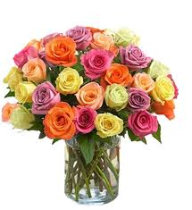 multicolor roses assorted colored roses fl same day delivery
