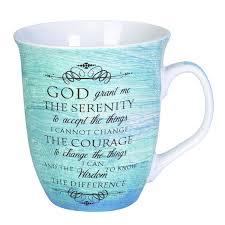 serenity prayer mug serenity prayer mug