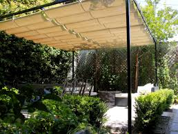 Freestanding Trellis Slide On Wire Awnings American Awning U0026 Blind Co