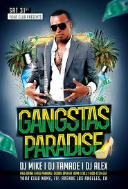 movie for gangster paradise gangsters paradise party flyer template download flyer for photoshop