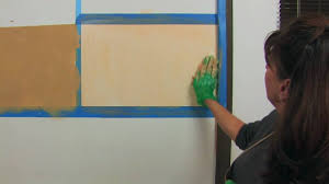Faux Color Washing - faux finish painting color washing on a budget youtube