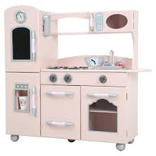 design kitchen set teamson kids wooden play kitchen set hayneedle