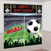 soccer party supplies 9 soccer party plates 8ct walmart