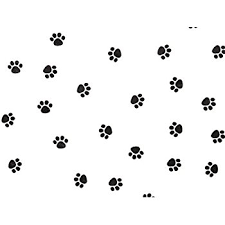paw print tissue paper 1 x paw print tissue paper 20 inches x 30 inches 24 xl