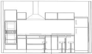 largeur plan travail cuisine largeur plan travail cuisine 14 hauteur de standard inspirations