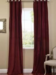 Burgundy Velvet Curtains Thank Goodness For Blackout Burgundy Grommet Velvet Blackout
