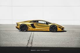 gold lamborghini lamborghini aventador in gold chrome wrap side photo size 1280