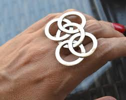 borromean ring borromean rings etsy