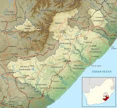Africa Topographic Map by File Topographic Map Of The Transkei Svg Wikimedia Commons